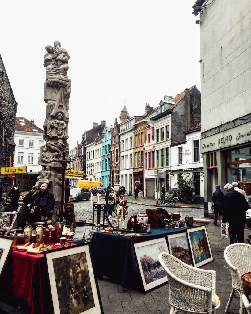 Flea Market, Ghent, Belgium | Moon & Honey Travel