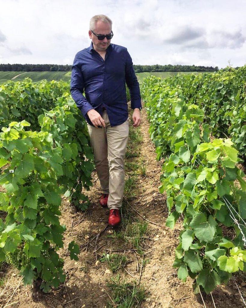 Local walking through Ahr Valley vineyards