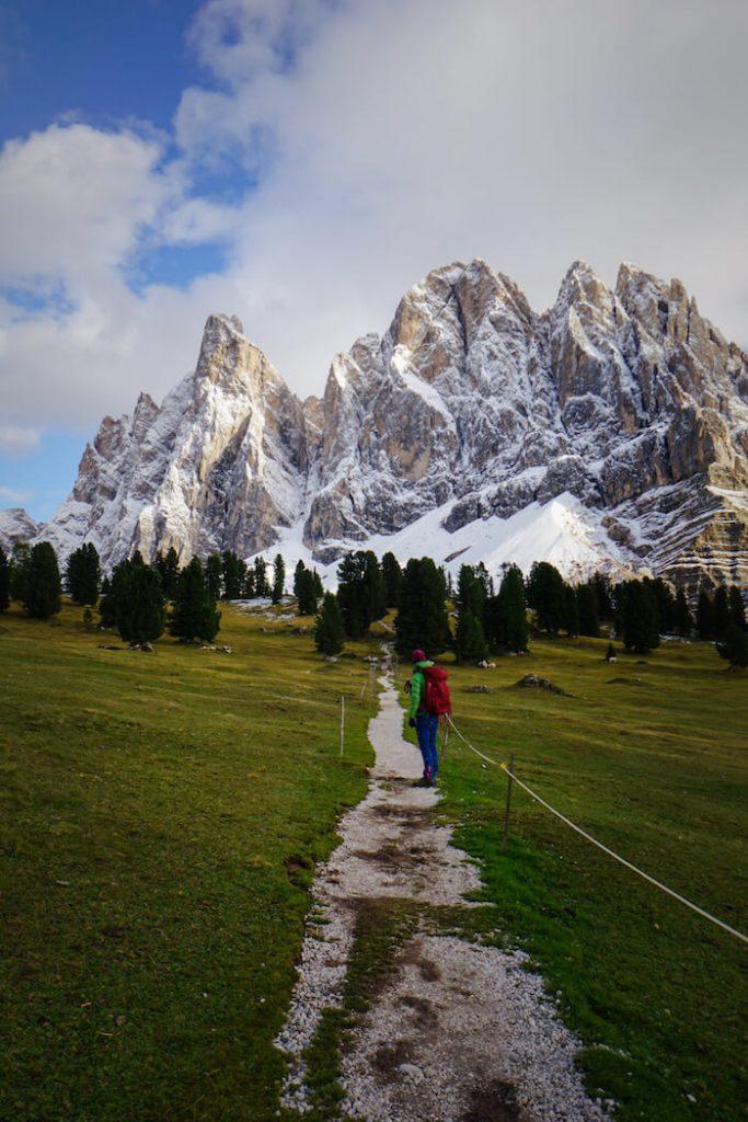 Malga Casanago Alpine Pasture, Adolf Munkel Trail, Dolomites