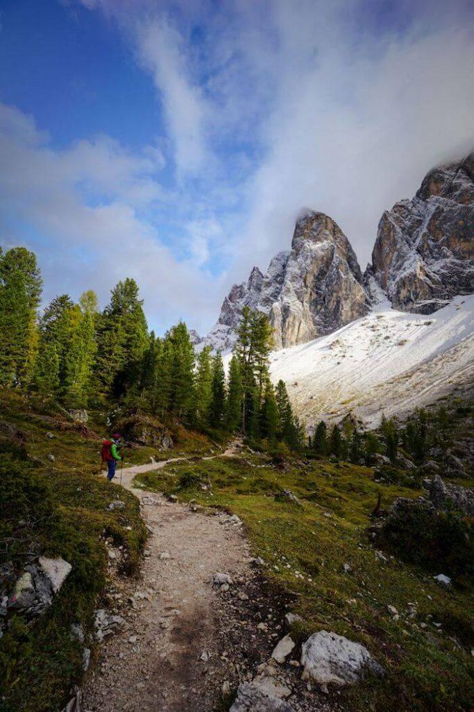 Adolf Munkel Trail, Geisler Peaks, Val di Funes