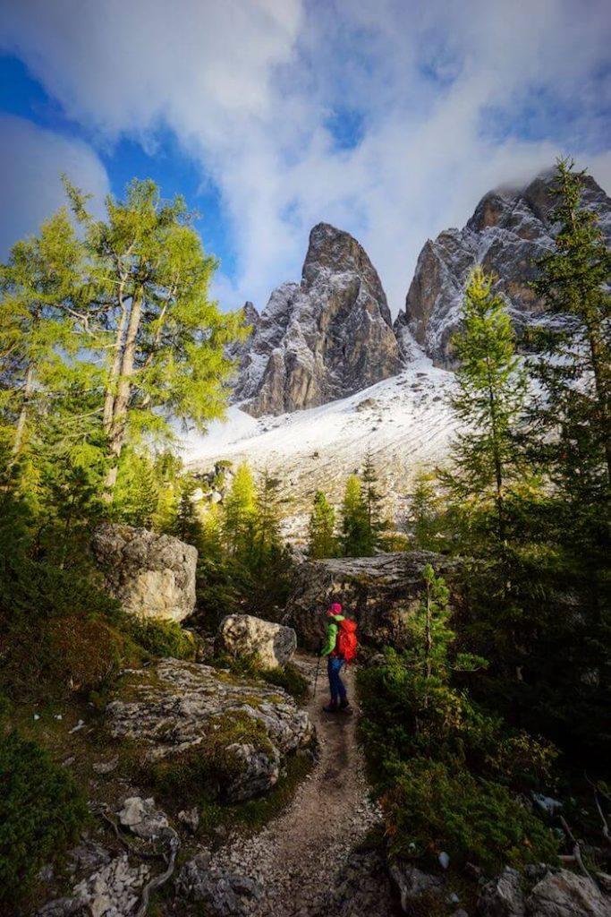 Adolf Munkel Trail, Val di Funes, South Tyrol, Italian Dolomites