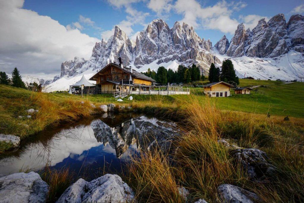 Geisler Alm, Val di Funes, Hiking the Adolf Munkel Trail, Dolomites