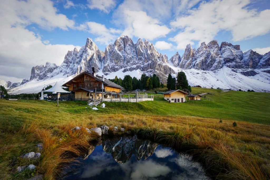 Geisler Alm, Adolf Munkel Trail, Dolomites Itinerary