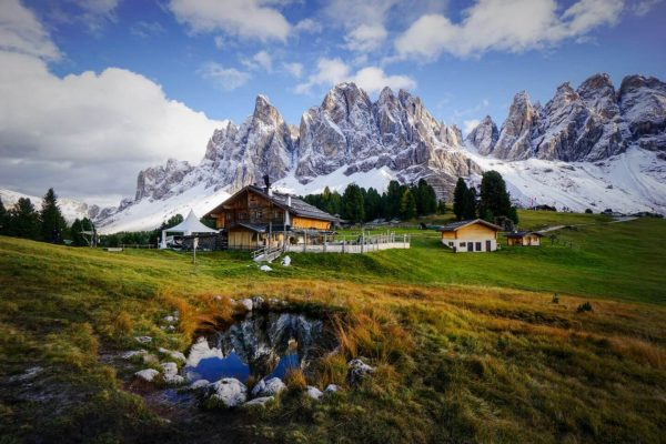 Adolf Munkel Trail, Hiking Map and Trail Description, Val di Funes, Dolomites