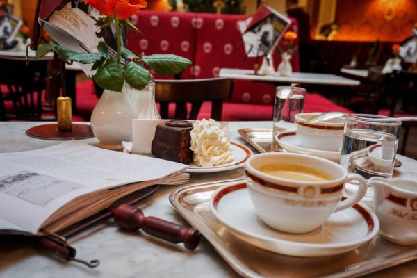 Cafe Sacher, Viennese Coffee Culture + Best Coffee Houses in Vienna, Austria