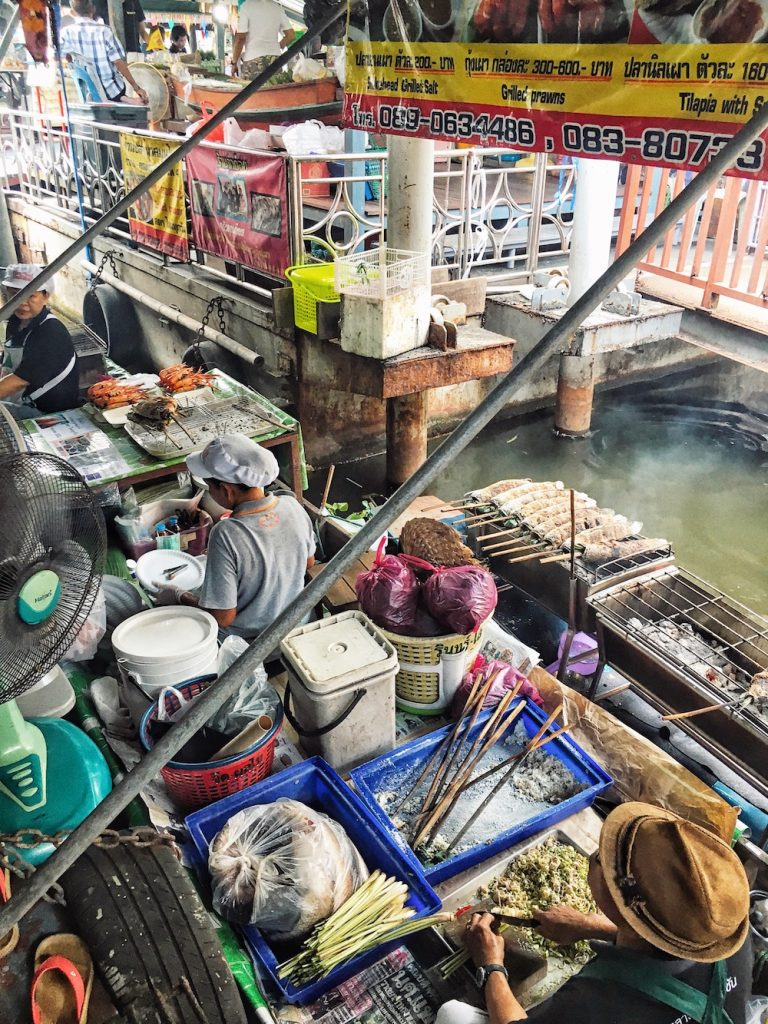 Taling Chang Floating Market, Thailand | Moon & Honey Travel