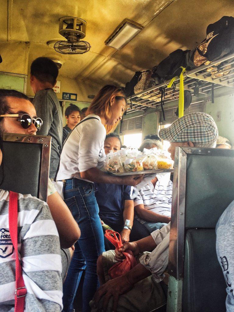 Thailand Train, Third Class | Moon & Honey Travel