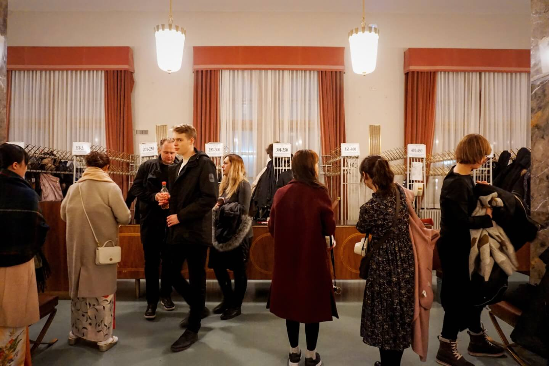 Vienna State Opera Cloakroom, How to Get Vienna State Opera Standing Tickets, Austria