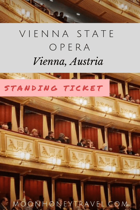 How to get Vienna State Opera Standing Room Tickets, Austria