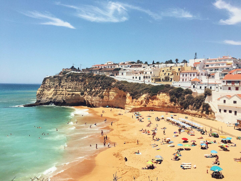 Praia do Carvoeiro, Algarve, Portugal Travel Guide | Moon & Honey Travel