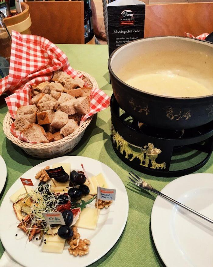 Fondue at the Appenzeller SchauKäserei in Stein | Moon & Honey Travel