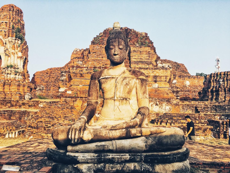 Ayuthaya, Wat Mahathat | Moon & Honey Travel