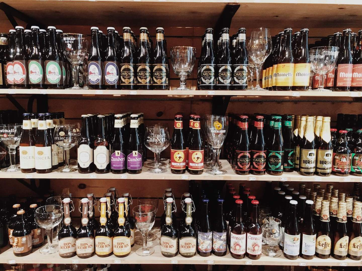 Belgium Beer Store in Bruges, Belgium | Moon & Honey Travel