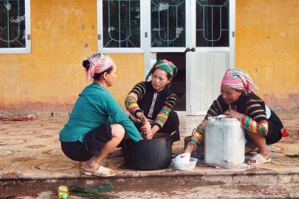 Black Lolo Women, Ha Giang, Vietnam