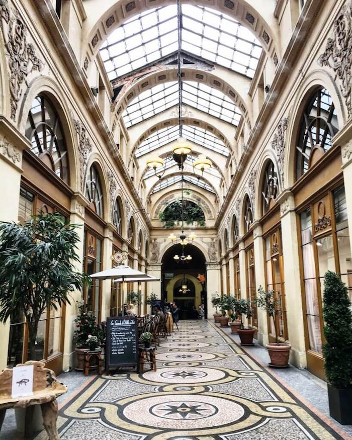 Galerie Vivienne, Paris, France | Moon & Honey Travel