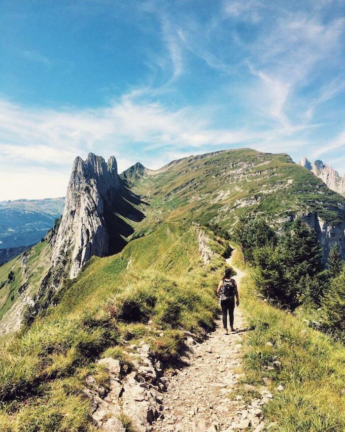 Saxer Lücke, Alpstein, Geological Trail, Switzerland