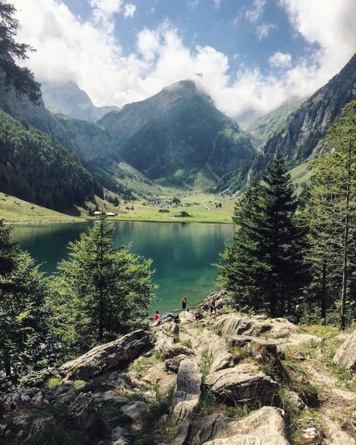 Seealpsee, Alpstein, Switzerland