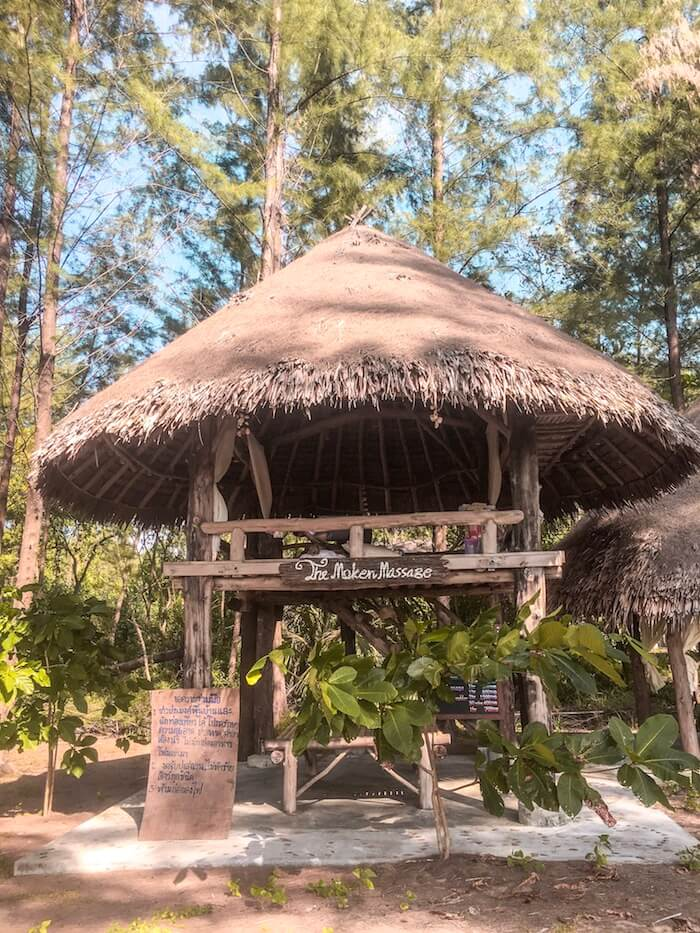Open-air massage bungalow in Ko Phra Thong, Thailand | Moon & Honey Travel