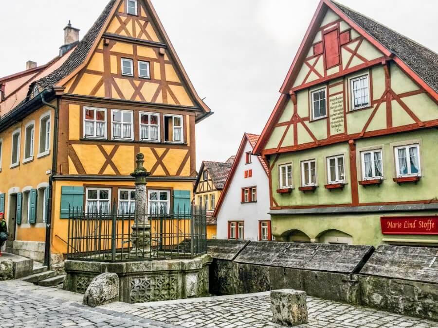 Rothenburg ob der Tauber, Franconia, Germany | Getting a Visa in Germany | Moon & Honey Travel