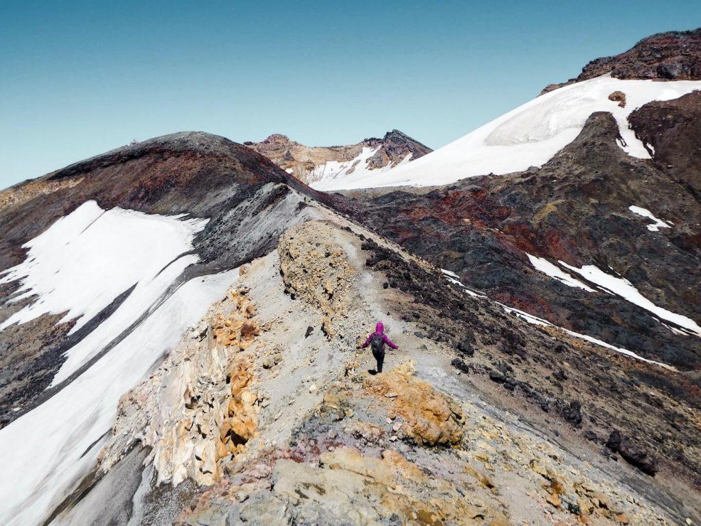 Dome Ridge, Mount Ruapehu