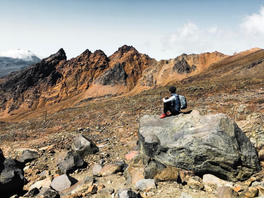 Hiking to Mount Ruapehu's Crater Lake