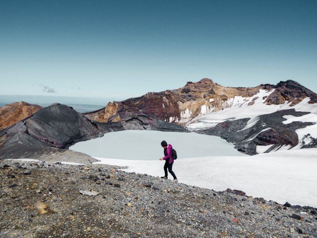 Mt Ruapehu Crater Lake, New Zealand