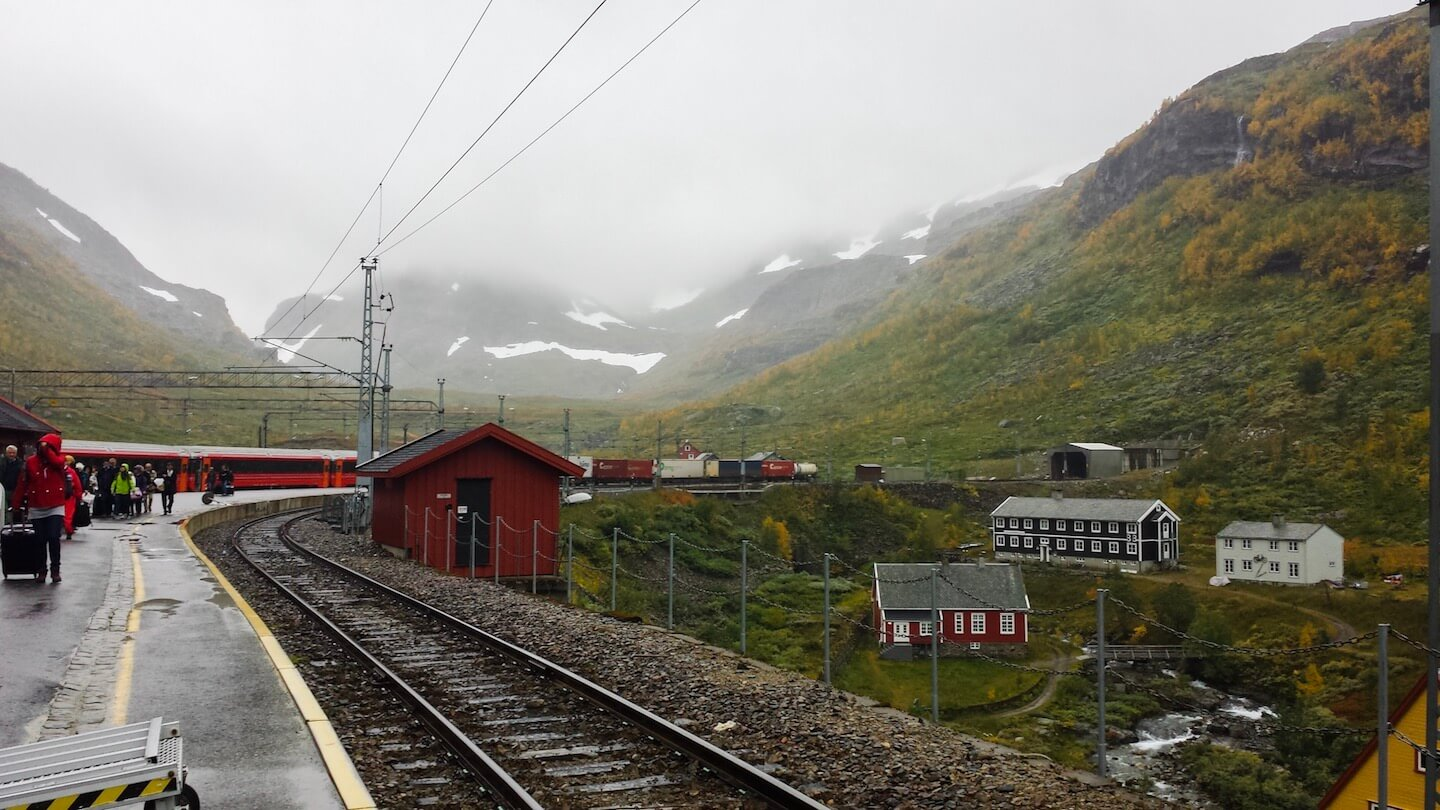Norway in a Nutshell Train Station