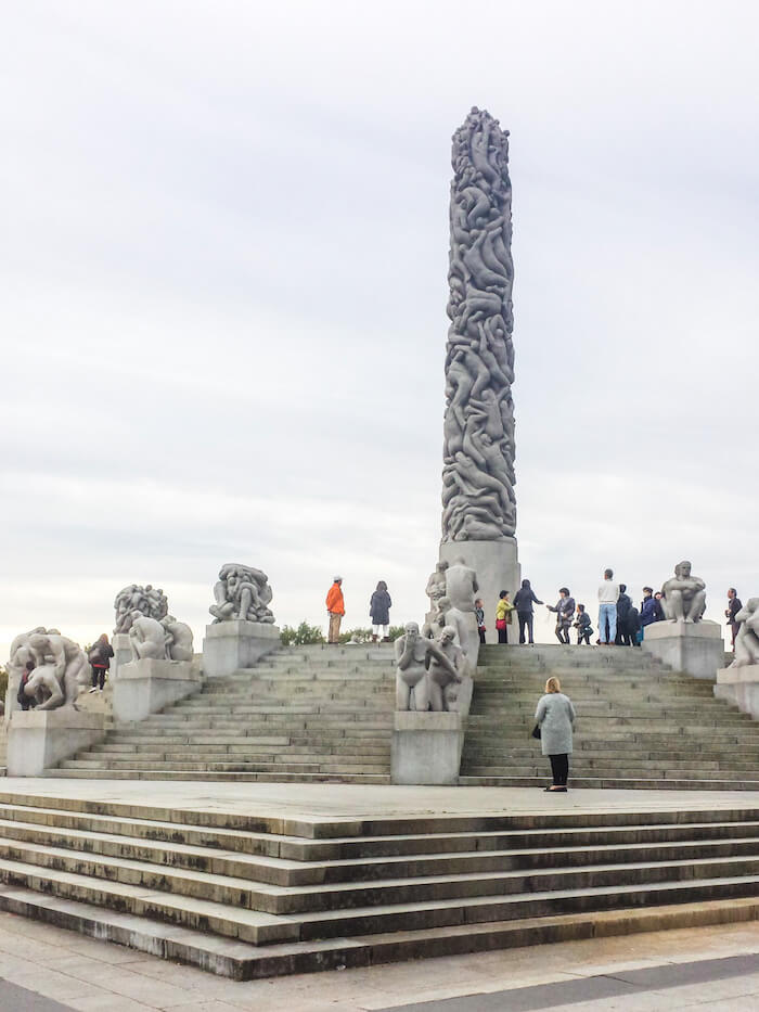 Vigeland Sculpture Park, Oslo, Norway Travel Guide   Moon & Honey Travel