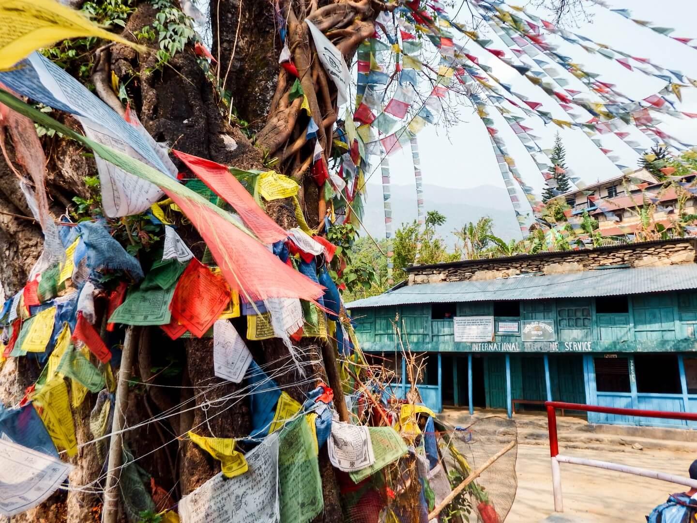 Tibetan prayer flags, Annapurna Circuit