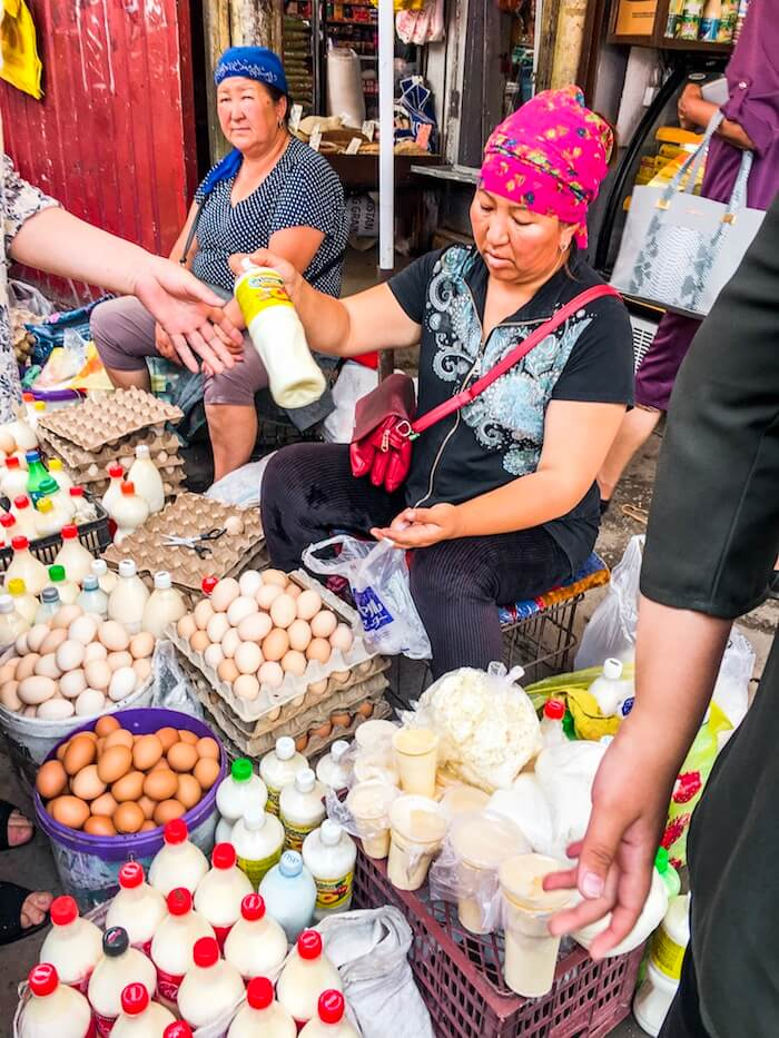Osh Bazaar, Bishkek Travel Guide | Moon & Honey Travel