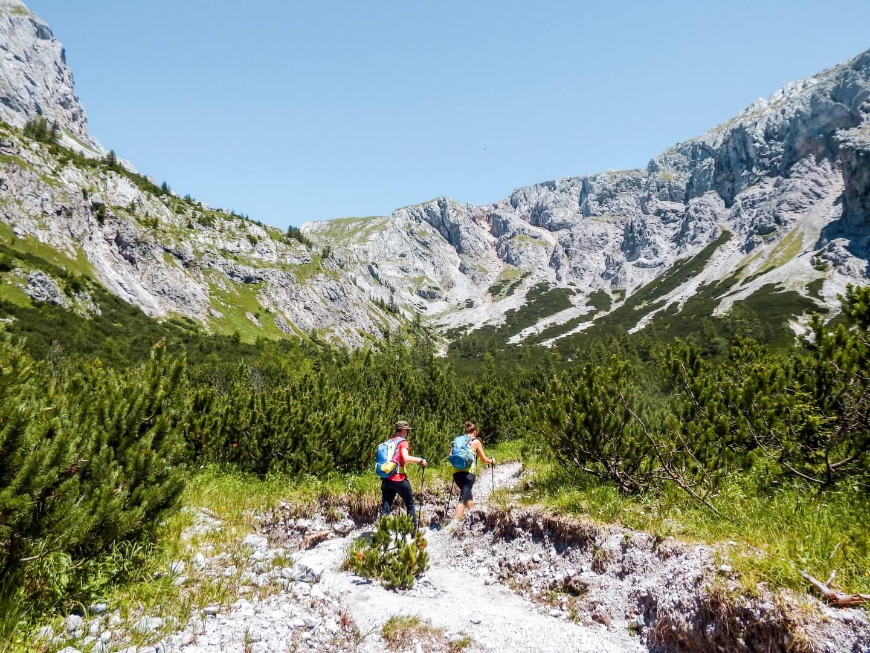 2 day Hochschwab Mountains Hike, Styria, Austria. Overnight in Schiestlhaus Hut.
