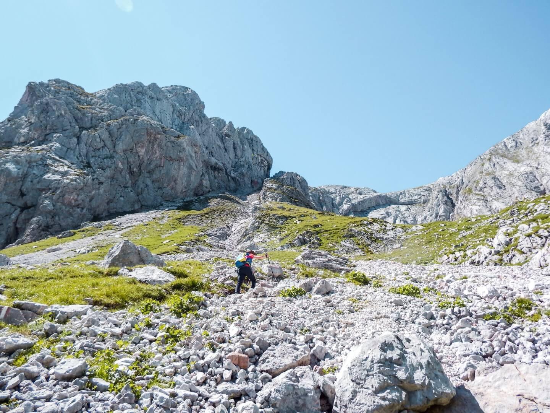 Hike to Hochschwab Summit, Styria, Austria