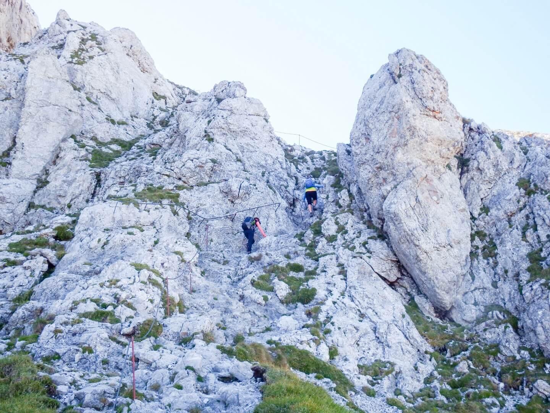 Assisted Climbing Route, Hochschwab Summit Trail, Styria, Austria