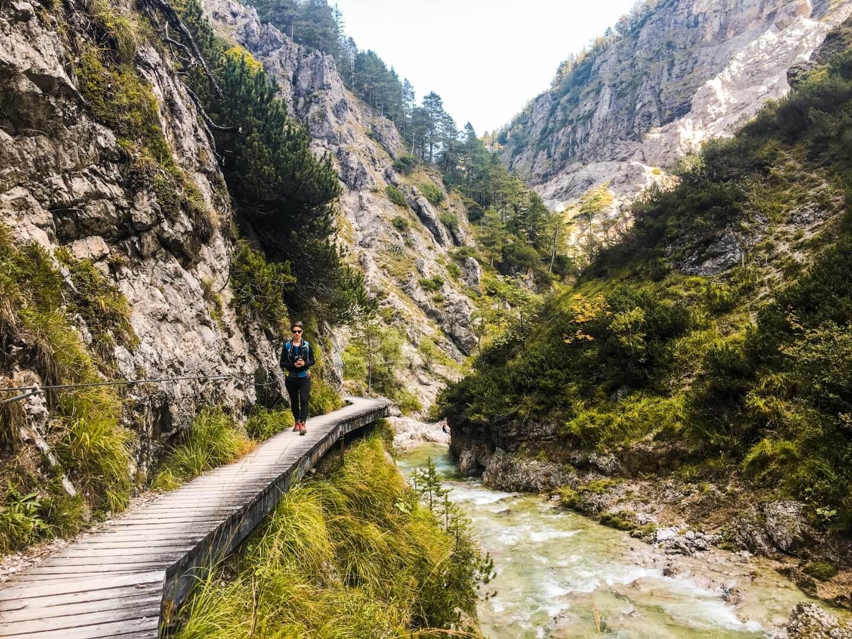 Hiking Ötschergräben, Austria's Grand Canyon, Lower Austria