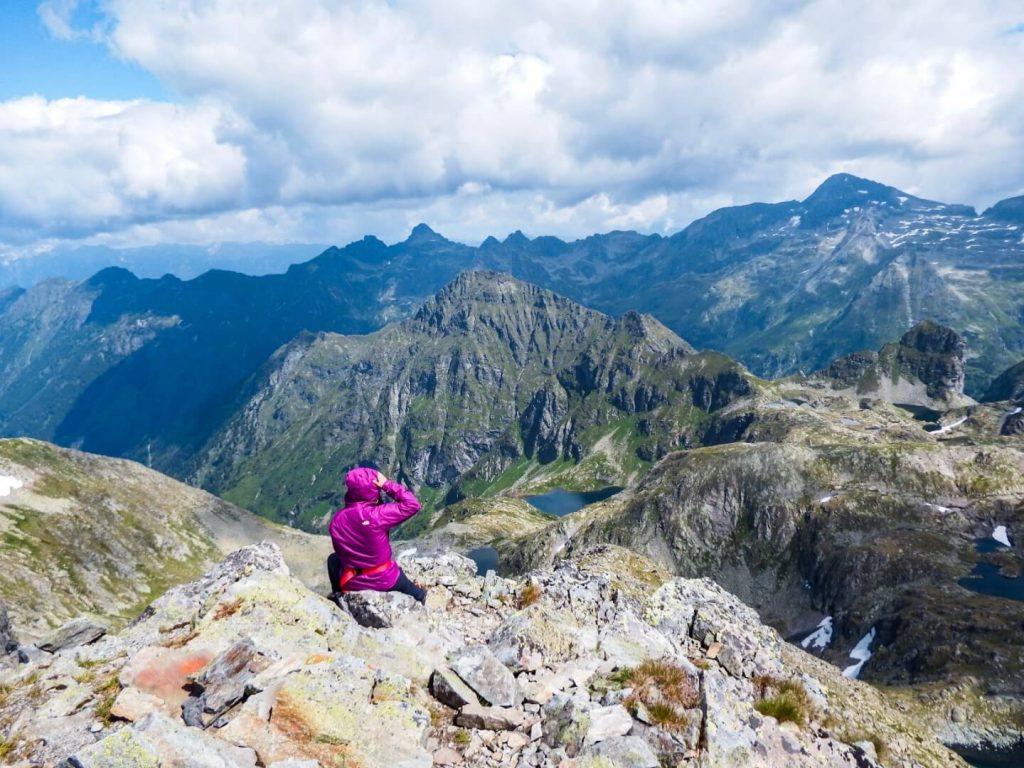 Hiking Schladminger Tauern High Trail, Austrian Alps