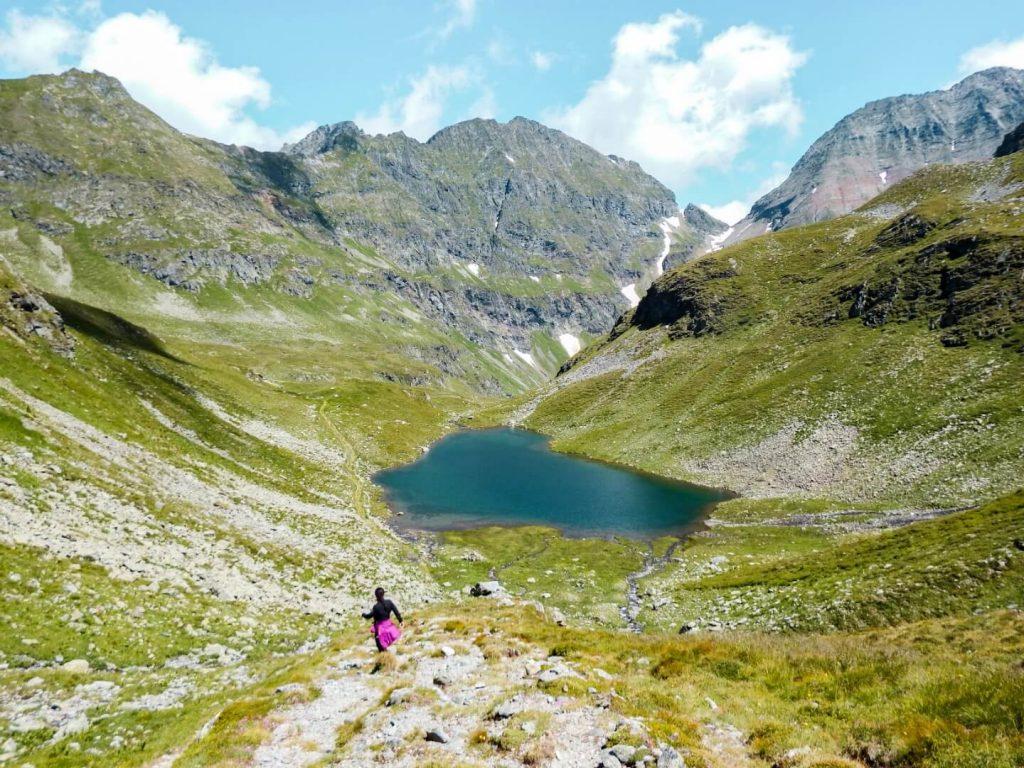 Unterer Landawirsee, Hiking Schladminger Tauern High Trail, Austrian Alps | Moon & Honey Travel