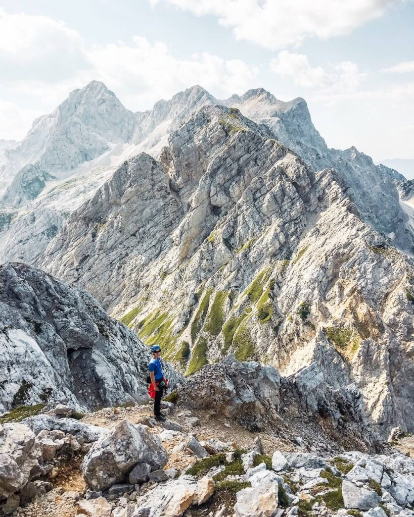 Hiking in the Kamnik-Savinja Alps, Slovenian Alps
