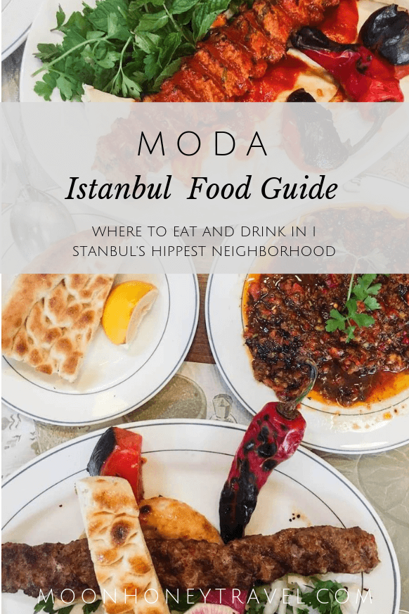 Best places to eat in Kadikoy Moda, Istanbul
