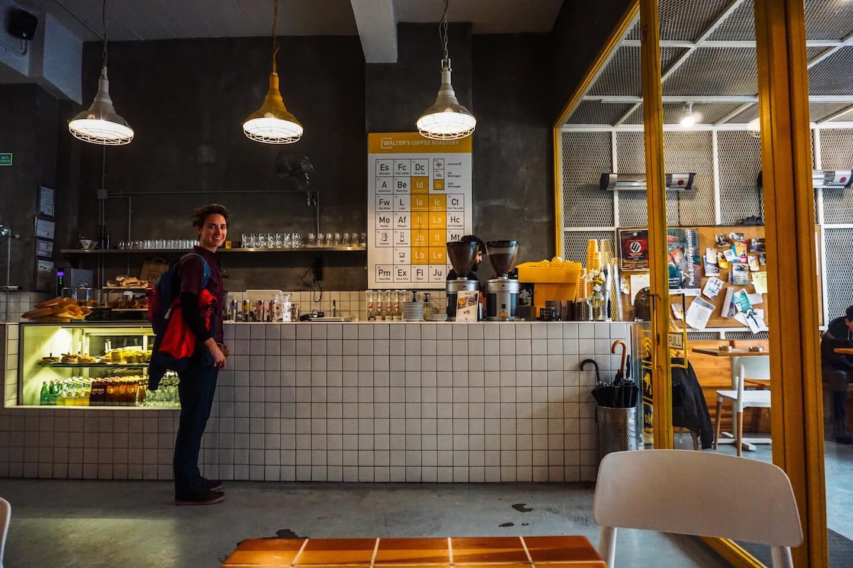 Walter's Coffee Roastery, Kadıköy-Moda, Where to Eat and Drink in Moda, Istanbul Food Guide