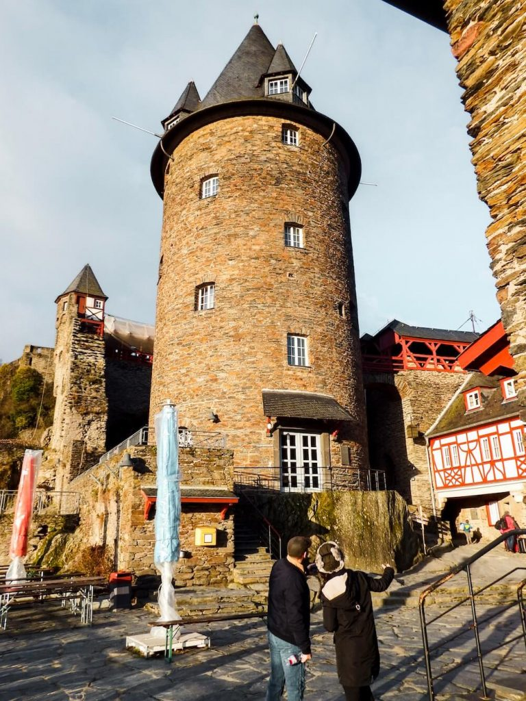 Staying the Night in Burg Stahleck, Bacharach, castles you can sleep in, Upper Middle Rhine Valley Germany Travel Guide
