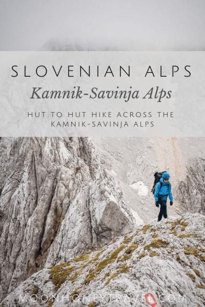 Kamnik Savinja Alps Hiking Route, Slovenian Alps Hike