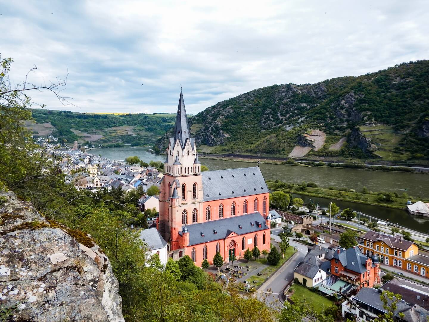 Liebfrauenkirche, Oberwesel, Germany - Upper Middle Rhine Valley Travel Guide