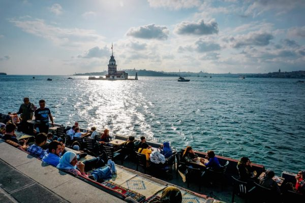 Sunset Walk along the Bosphorus & Maiden's Tower, top things to see and do in Uskudar, Istanbul