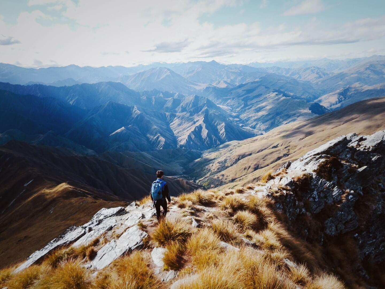 Ben Lomond Hike, Queenstown, New Zealand South Island 4 Week Itinerary