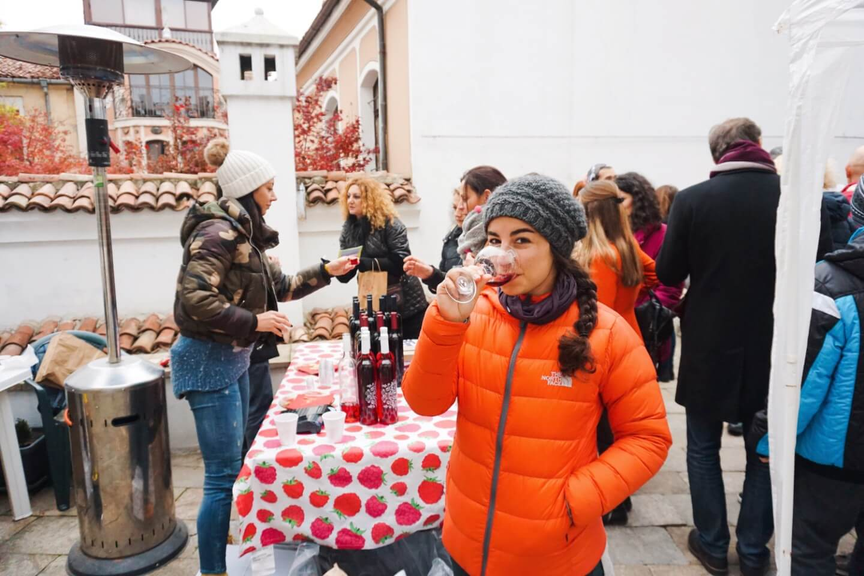 Trastena Raspberry Wine | 6 things we learned while wine tasting in Bulgaria