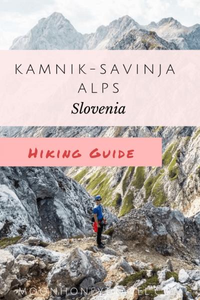 Kamnik Savinja Alps Hike, Slovenian Alps, Slovenia