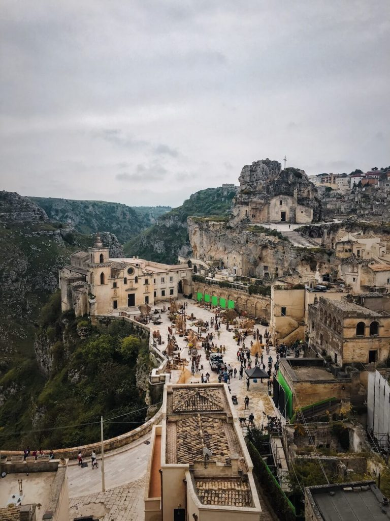 Wonder Woman (2017) Film Set, Matera, Italy Travel Guide