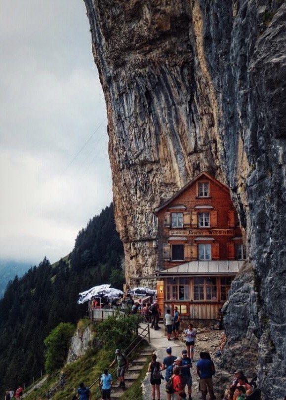 Berggasthaus Äscher, Alpstein, Appenzell