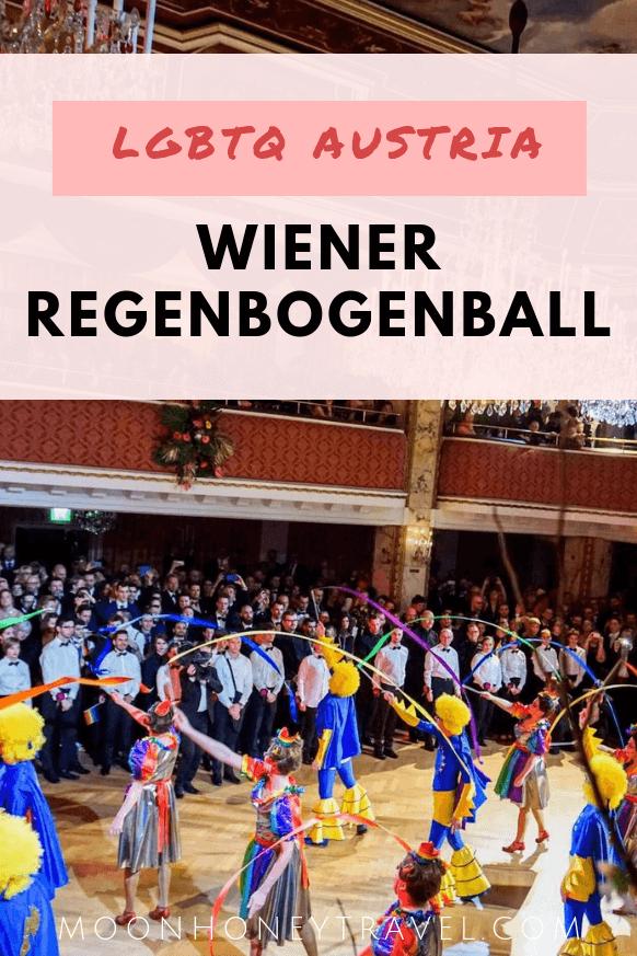 Vienna Rainbow Ball - Wiener Regenbogen Ball - LGBTQ Viennese Ball