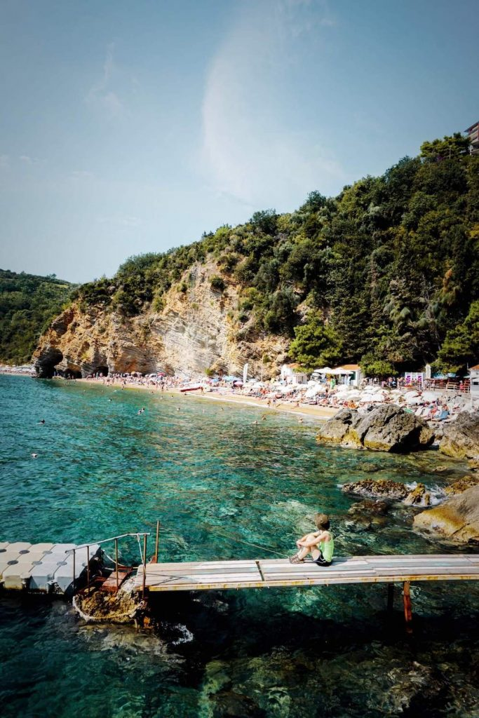 Mogren Beach, Budva Riviera, Montenegro Travel Guide